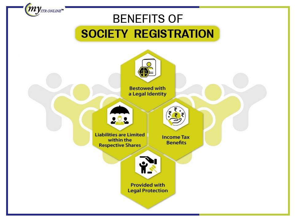 Benefits of society Registration