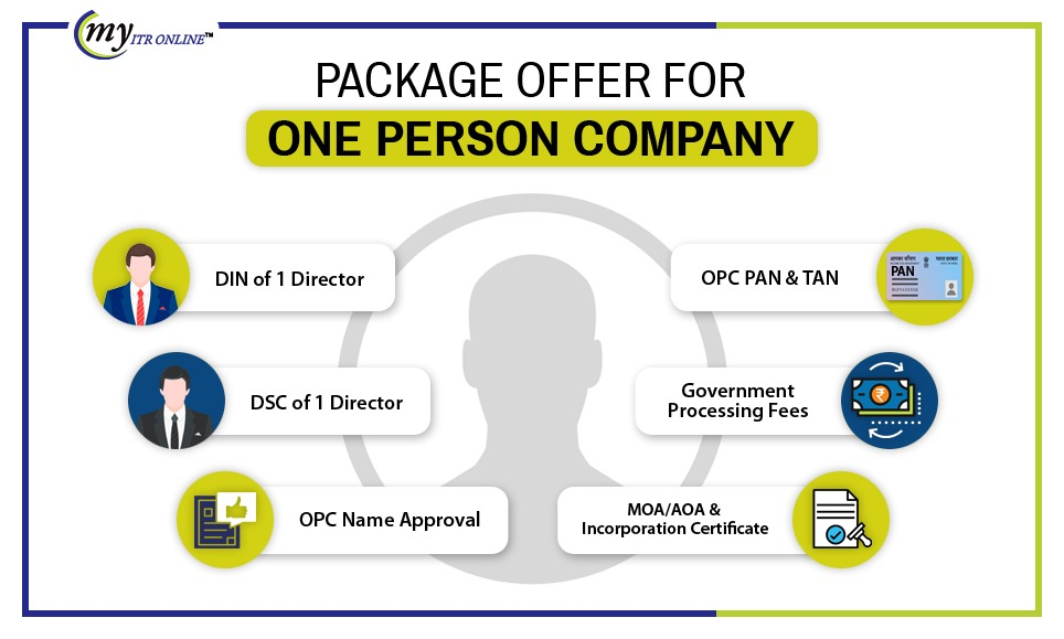 One Person Company Package is offers