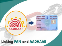 Linking Your Aadhaar with PAN for filing ITR and E-verification