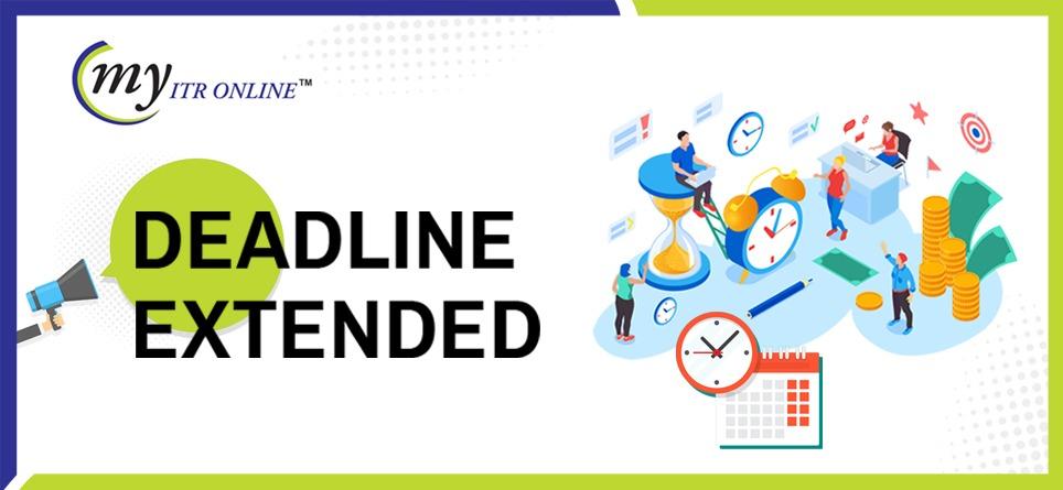 CBDT Has Notified Income Tax Return Deadlines Extended Again Myitronline latest news